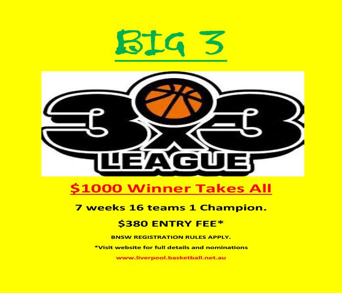 Liverpool Basketball Association | Big 3 Competition