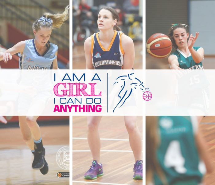 I AM A GIRL. I CAN DO ANYTHING