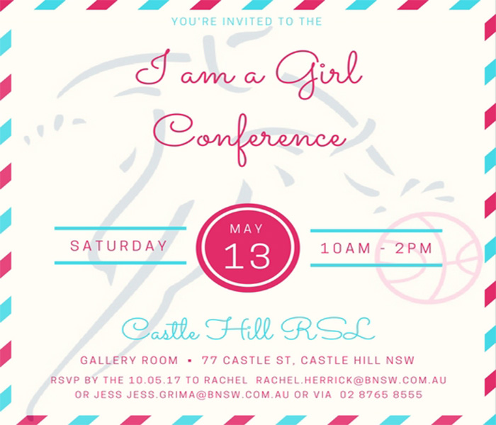 Save the Date | I am a Girl Conference