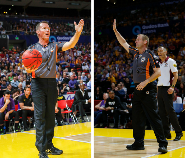 NBL Referees' Brett Hogan and Brad Giersch retire from the league