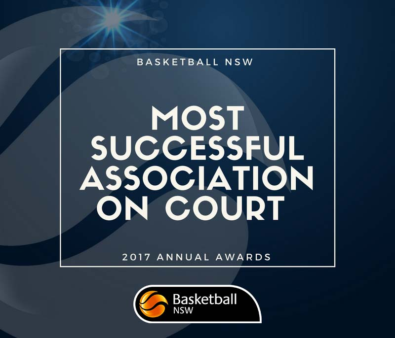 2017 BNSW Annual Awards – Most Successful Association on Court