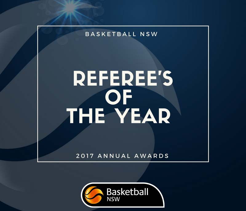 2017 BNSW Annual Awards – Referee of the Year