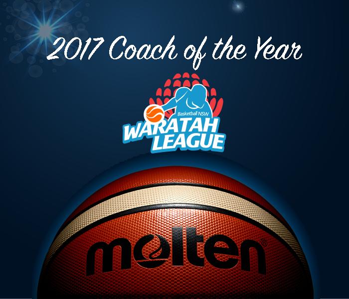 2017 molten waratah league coach of the year awards basketball new