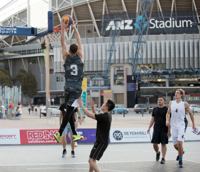 3X3 Basketball Hits Sydney Olympic Park